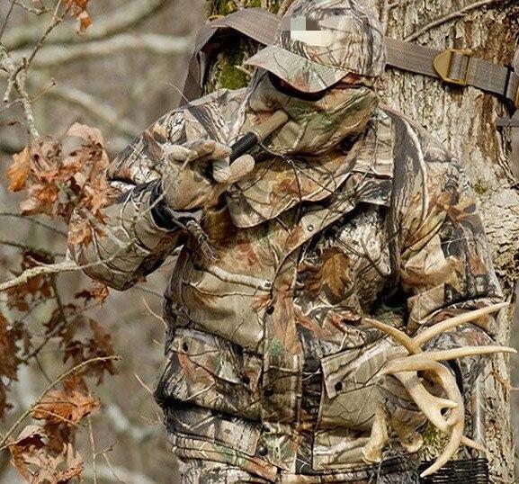 Hommes respirant Camouflage chasse vêtements tactique Ghillie costumes pêche Camping formation costume veste pantalon casquette écharpe gants