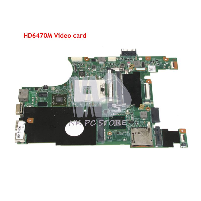 NOKOTION CN-07NMC8 07NMC8 7NMC8 For Dell Inspiron 14R N4050 Laptop Motherboard HM67 DDR3 HD 6470M Discrete Graphics nokotion laptop motherboard for dell inspiron n7010 mainboard ddr3 0gkh2c cn 0gkh2c gkh2c da0um9mb6d0 without graphics card