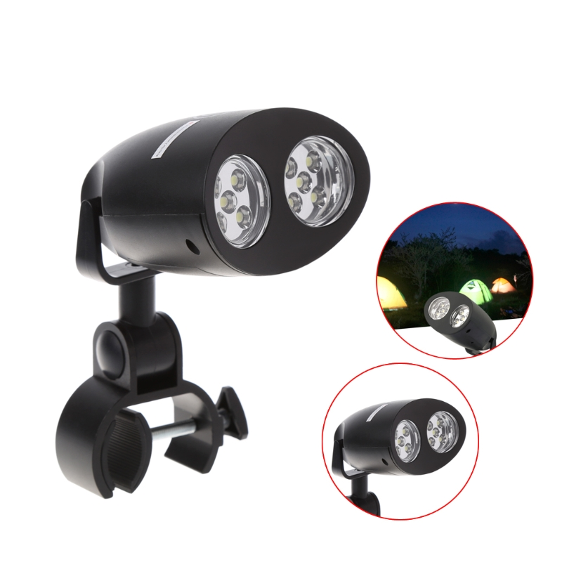 Adjustable 10 LED BBQ Grill Light Handle Mount Clip Touch Sensor Switch Camp Lights Waterproof L22 in Novelty Lighting from Lights Lighting