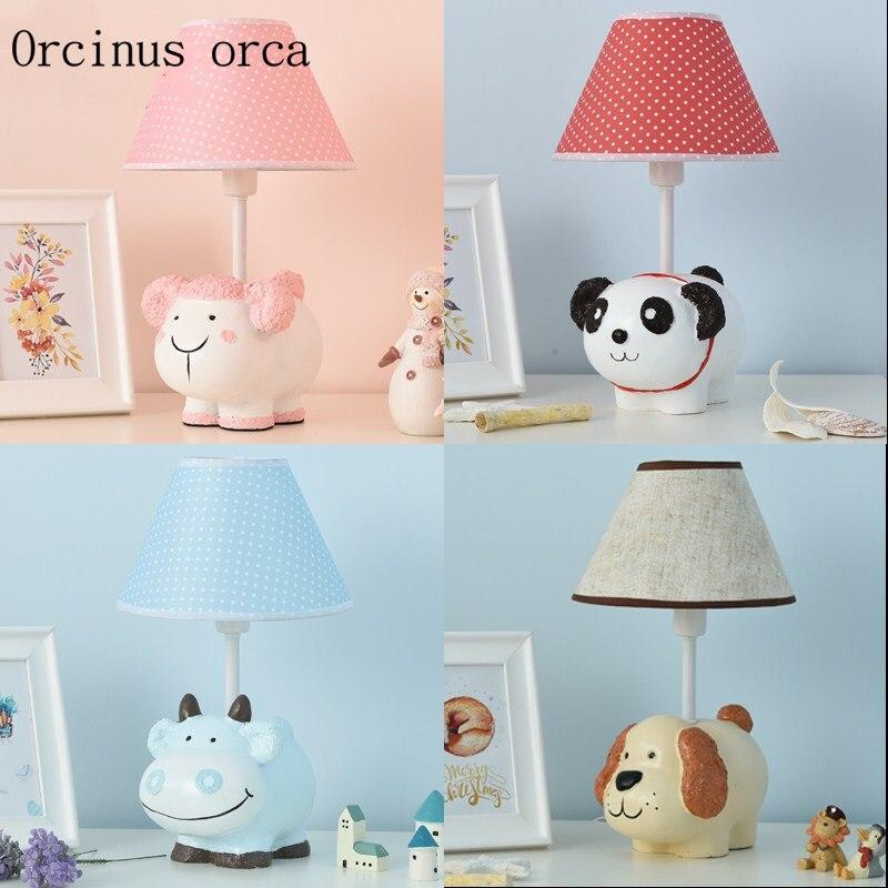 Creative Cartoon Doll Desk Lamp Children S Room Boys Girls Bedroom