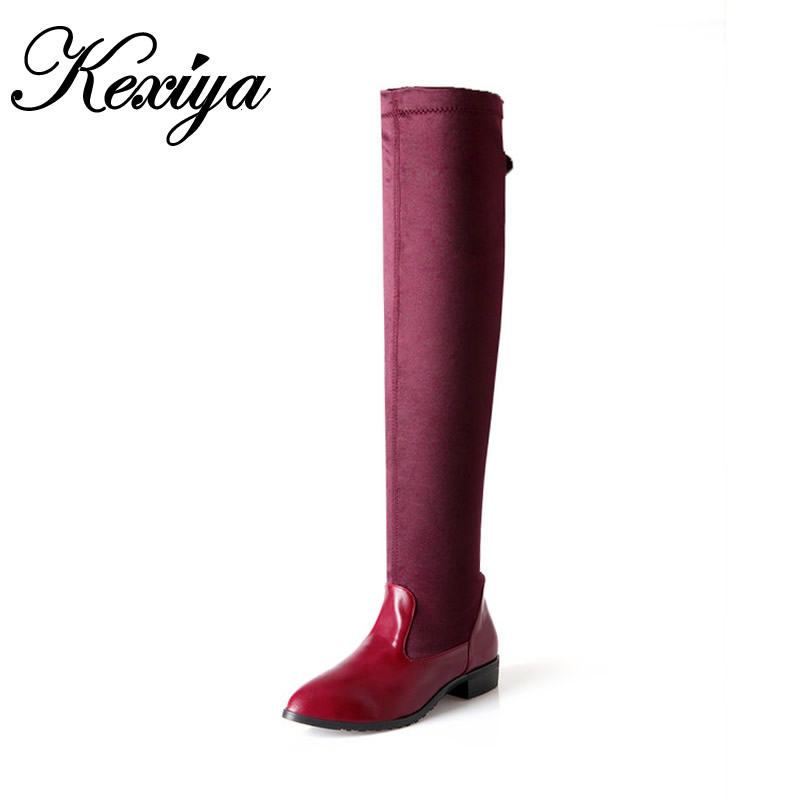73e5ae4d1219 Großhandel high leg leather boots Gallery - Billig kaufen high leg leather  boots Partien bei Aliexpress.com