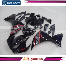 Gloss Black Complete Fairing Kits For Yamaha ABS Bodywork Replacement Fit YZF R1 2012 13 14 Years Fairings