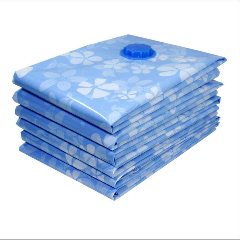 Image 3 - Arrival Flower Printed Foldable Extra Large Compressed Organizer Vacuum Bag Clothing Storage Bag Saving Space-in Storage Bags from Home & Garden