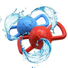 Training Dog Toy Ball Vocal Pet Molar Bite Rubber Floating Water Equipment Pets