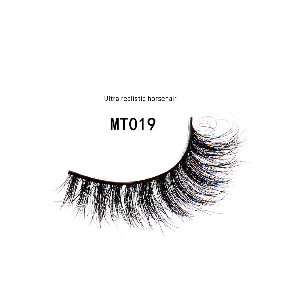 Beauty Essentials Beauty & Health Trend Mark 1 Pair Black Luxurious 100% Real Mink Long Natural Thick Fake Eye Lashes False Eyelashes Makeup Tools