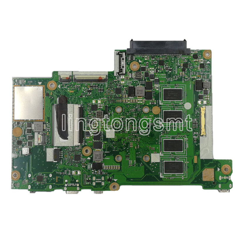 E202SA motherboard N3060 CPU 2GB RAM For ASUS E202S E202SA laptop motherboard E202SA mainboard E202SA motherboard test 100% ok-in Motherboards from Computer & Office    3
