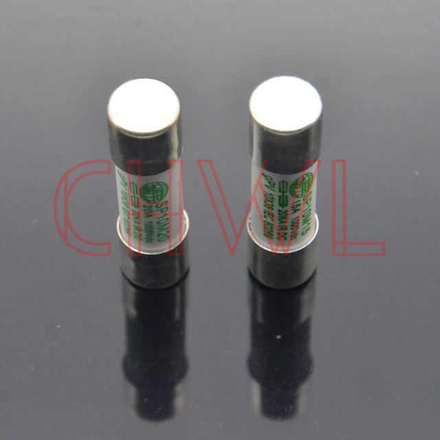 10pcs/lot DC1000V fuse photovoltaic 10*38MM 10A 15A 20A 25A PV dropout fuse component for Solar Power System Protection