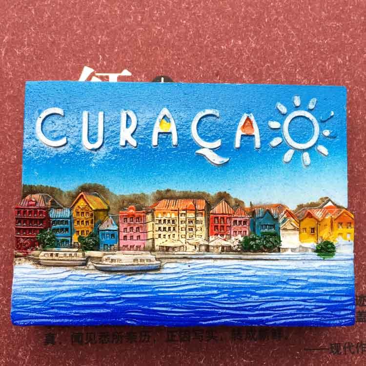 Holland Autonomy Curacao Caribbean Stereo Fridge