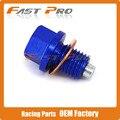 CNC Aluminum Magnetic Oil Drain Plug Bolt Fit Kawasaki ZXR750 Z800 ZX-9R NINJA1000 VERSYS1000 Z1000 ZX-10R GPZ1100 ZEPHYR1100
