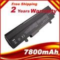 7800mAH Black Laptop battery For Asus Eee PC VX6 1011 1015 1015P 1015PE 1016 1215N 1215B A31-1015 A32-1015 AL31-1015 PL32-1015