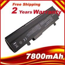 7800mAH Siyah dizüstü pil asus için Eee PC VX6 1011 1015 1015 P 1015PE 1016 1215N 1215B A31-1015 A32-1015 AL31-1015 PL32-1015
