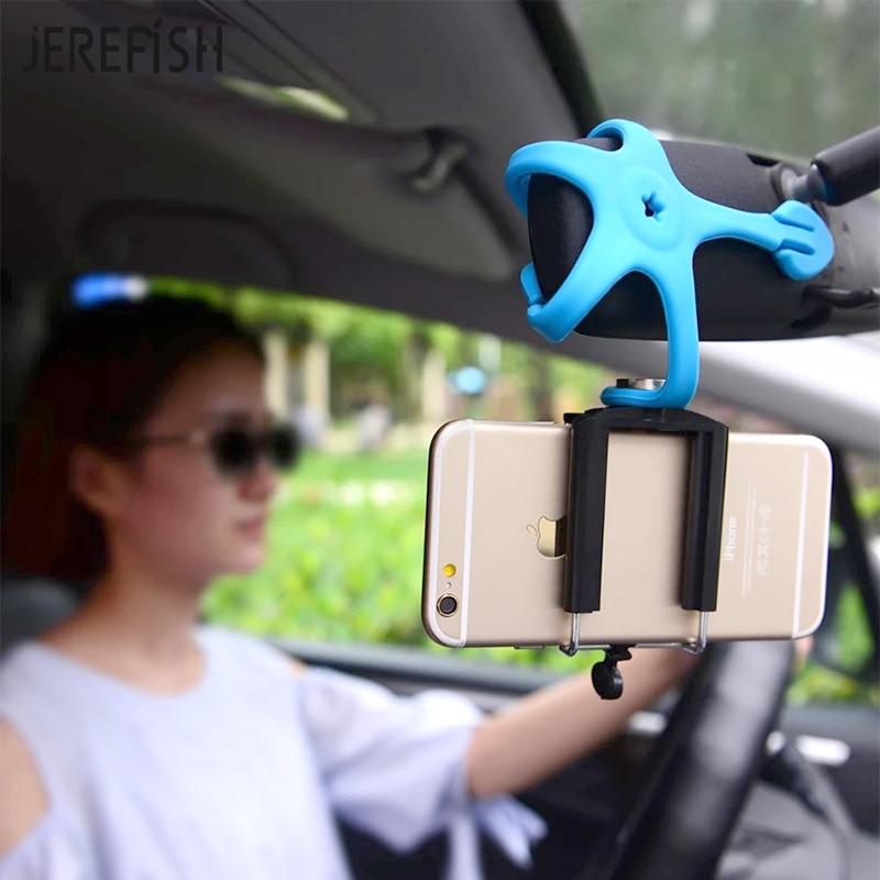 Jerefish мини-штатив Портативный Гибкая подставка держатель для <font><b>iPhone</b></font> GoPro Xiaomi Yi SJ4000 SJCAM C30 спортивные Камера Интимные аксессуары
