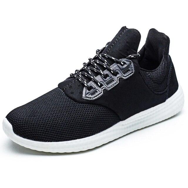 check out e4ff5 62923 Nuevos Hombres Al Aire Libre de Los Zapatos Corrientes Ultra Ligeros Malla  Entrenador Calzado Deportivo Zapatillas