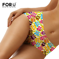 FORUDESIGNS 2017 New Arrival 3D Printing Animal Birds Bragas Culotte Femme Women's Briefs Sexy Panties For Women Erotic