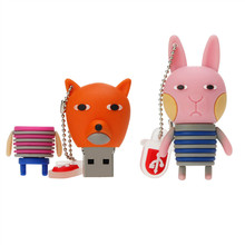 Usb Stick 32GB Pen Drive Cute Cartoon Usb Flash Drive 4GB 8GB 16GB Pendrive 32GB 64GB Usb 2.0 Memory Stick High Quality U Disk