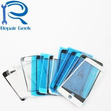 1pcs LCD Front Touch Screen Glass Outer Lens for iPhone 4 4G 4s 5 5G 5c 5s 6 6G 6s plus 7 7G 7 plus Replacement White Black