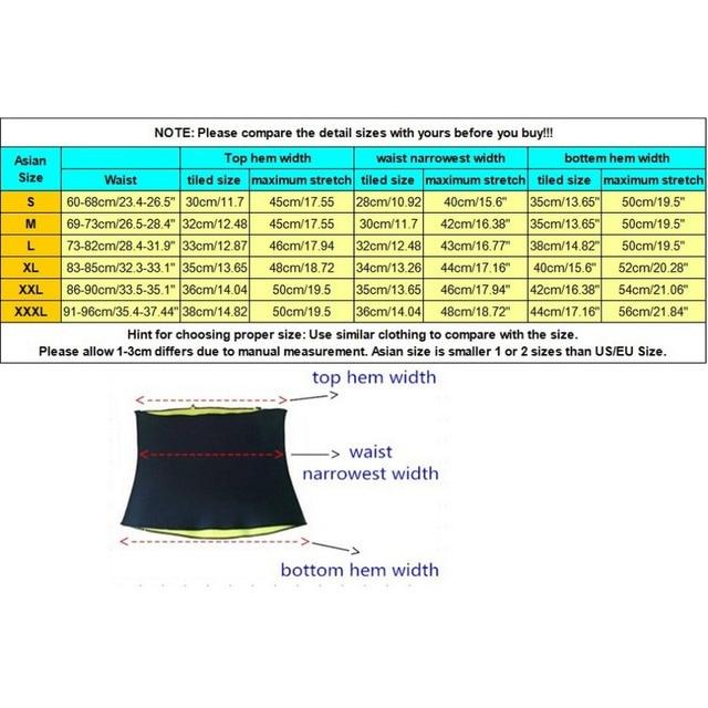 Slimming Belt belly Men neoprene body shapers Abdomen Fat burning Weight loss waist sweat tummy corset trainer shapewear C1 5