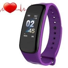 73596e57eca6 Reloj inteligente deportivo para mujer marca de lujo 2018 reloj inteligente  LED relojes de pulsera digitales