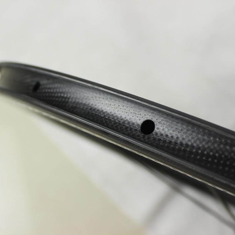 hot sale 700c dimple surface carbon wheelset light weight dimple - Cycling - Photo 6