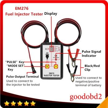 цена на Car diagnostic tool tester Fuel Injector Tester Automotive Fuel Pump System Analyzer 4 Pulse Modes EM276 Injector Pressure Gauge