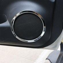 Автомобиль кольцо динамика двери Крышка Динамик украшения отделка Стикеры для Nissan X-Trail, PDF Rogue T32 2013-2017 аксессуары
