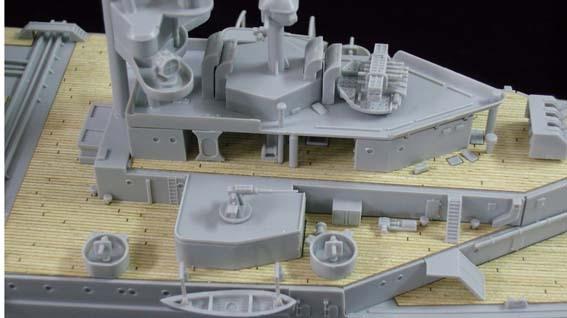 Trompettiste ARTWOX 05312 contre-attaque Britannique Japonais cruiser pont en bois AW10002