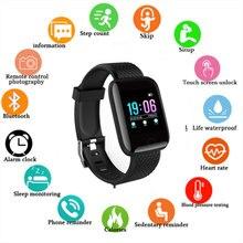 Reloj inteligente Bluetooth para hombres y mujeres, pulsera deportiva para Fitness, impermeable, GPS, presión arterial, pulsera inteligente para iPhone, teléfono Android