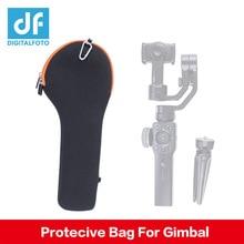 Glatte 4 gimbal Tragbare Tasche Durchführung Schutzhülle Tragbare telefon Speicher Tasche für Zhiyun Glatte 4/Q DJI OSMO für iphone X