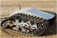 100 т 880 кг нагрузки большой все металлические Робот Танк платформа амортизация шасси подвеска Гусеничный