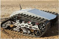 880t 100kg Load Big All Metal Robot Tank Platform Shock Absorption Chassis Suspension Crawler Chassis
