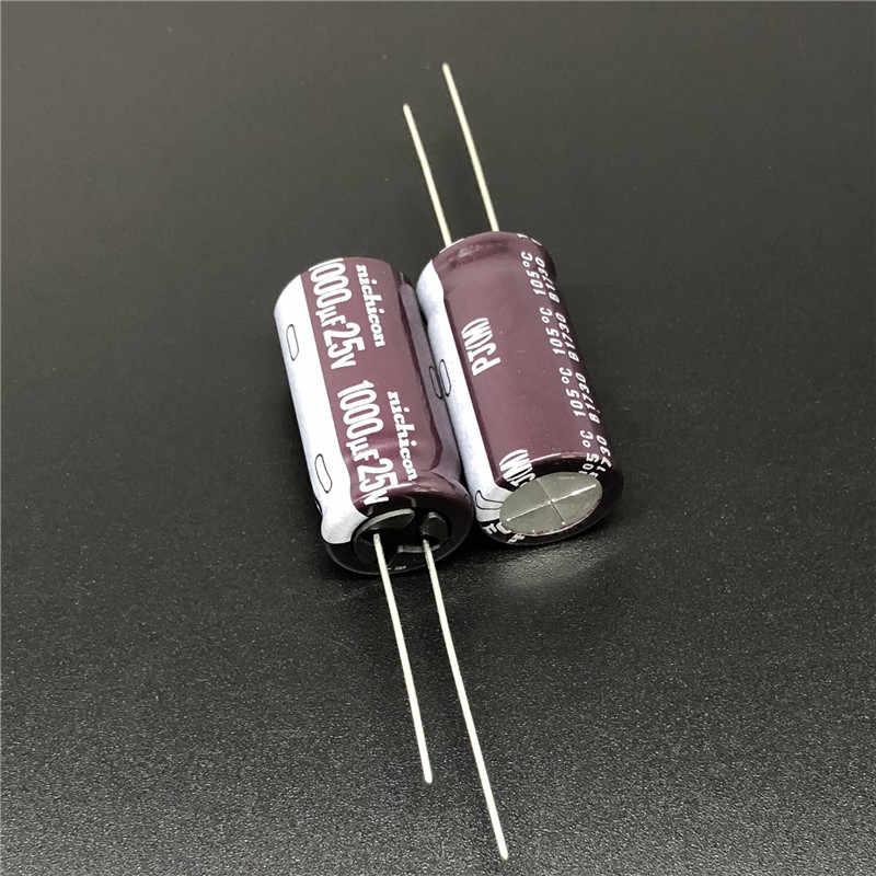 10//100pcs 400V 1UF 400V NICHICON PJ 10x13mm Low Impedance Long Life Capacitor