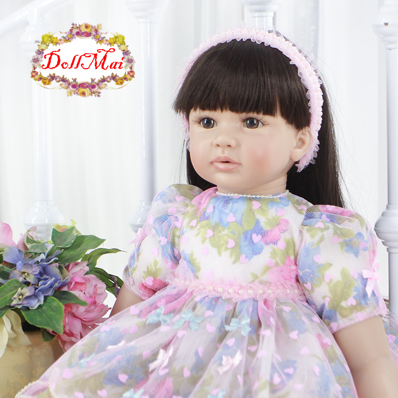 Bebe princess reborn 24 60cm Silicone Reborn Baby Doll Toys baby alive  toddler girl dolls  Kids Birthday Gift Play House toy  Bebe princess reborn 24 60cm Silicone Reborn Baby Doll Toys baby alive  toddler girl dolls  Kids Birthday Gift Play House toy