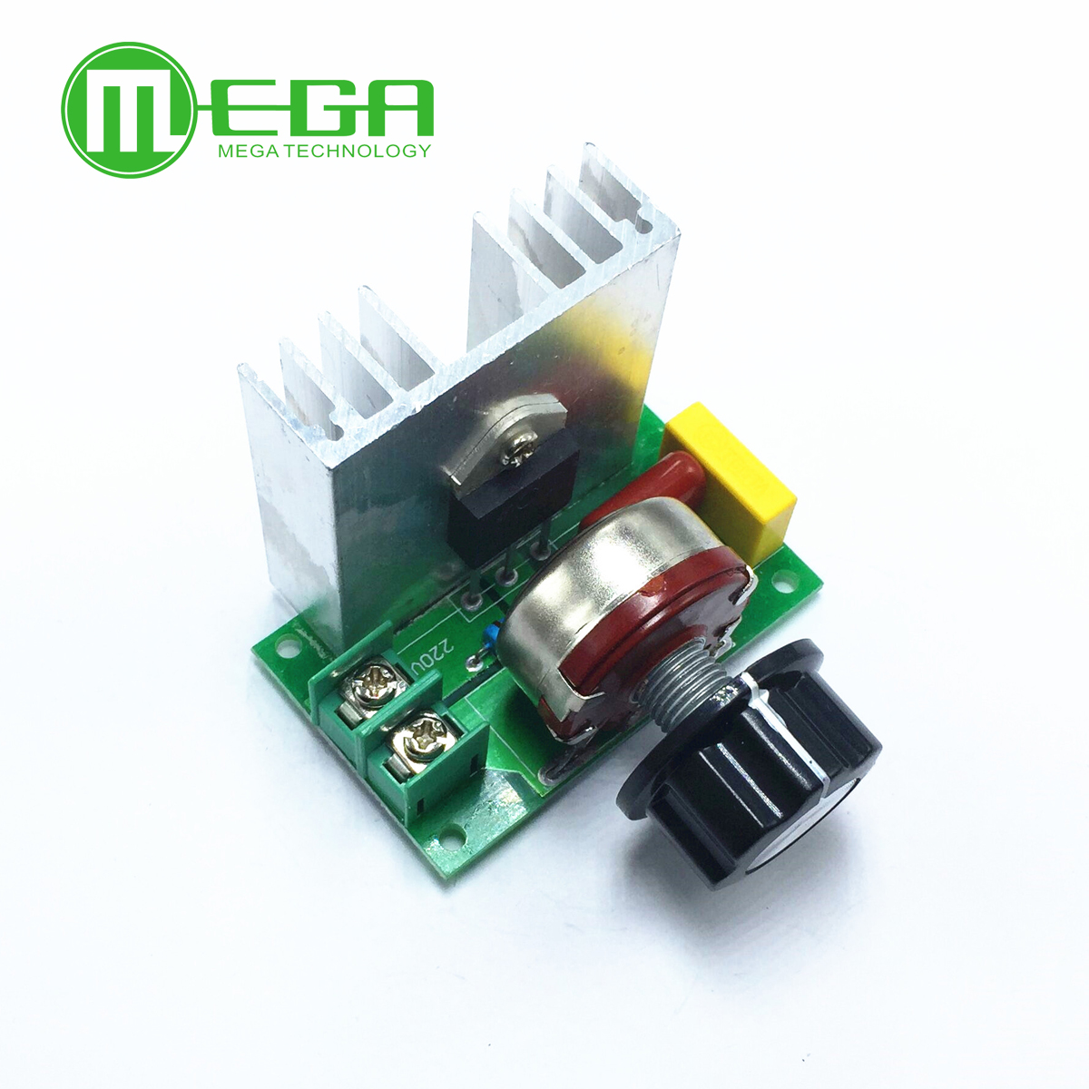 4000w Scr Electronic Voltage Regulator Speed Controller Control High Power Alarm Driver Circuit Design Board Governor Dimmer Module Ac 220v
