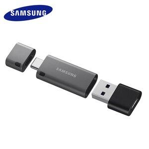 Image 3 - Samsung unidad Flash USB 3,1 para Chromebook y Macbook, 128 GB, DUO Plus, velocidad de hasta 300 MB/s, OTG, TypeC, USB C, 128 gb