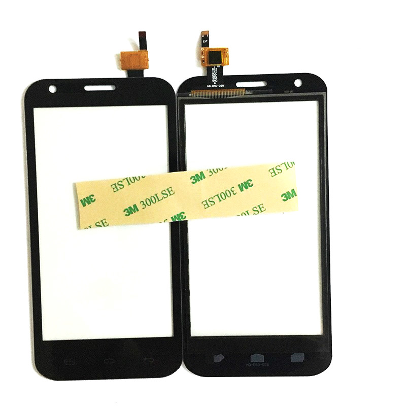 Black Color For Prestigio MultiPhone PAP 5501 Touch Duo PAP5501 Touch Screen Digitizer Glass Sensor Replacement +3M Sticker
