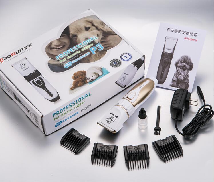 Professional Electric Pet Hair Trimmer Cat Scissor Clipper Dog Haircut Machine Rabbit Fur Grooming Comb Cut Shear Shaver Razor