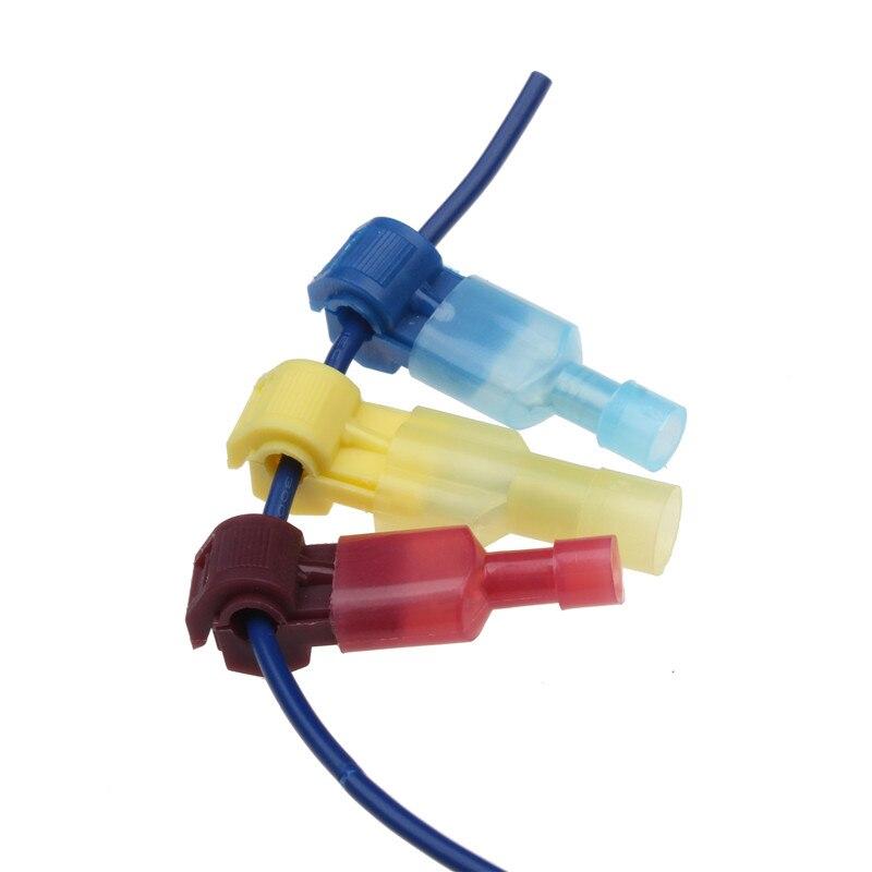 60 pcs/30 Paires Mâle Spade & Quick Lock Splice Connecteur de Fil Ensemble Snap Rapide Facile Serrure Électrique Câble crimp Terminal 22-10 AWG