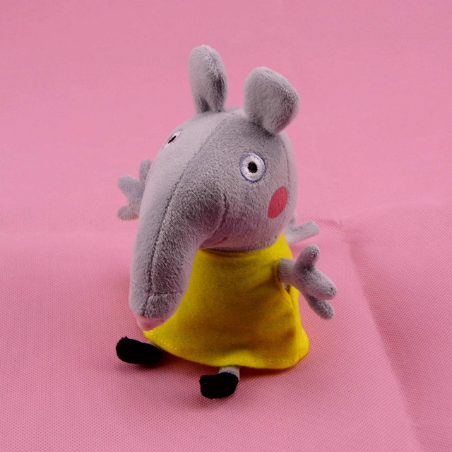 Us 6 95 1pc New Peppa Pig Friends 19cm Stuffed Animal Emily Elephant Plush Soft Toys Doll Baby Toy For Kids Children Birthday Gifts In Movies Tv