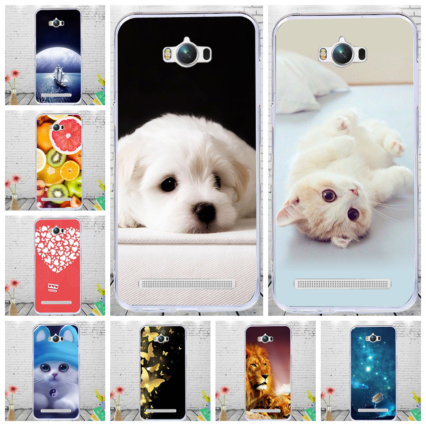 J&R Cute Animal Phone Case For Asus Zenfone Max ZC550KL Soft TPU Cover For Zenfone Max ZC550KL <font><b>ZC</b></font> ZC550 550 <font><b>550KL</b></font> KL Cases image