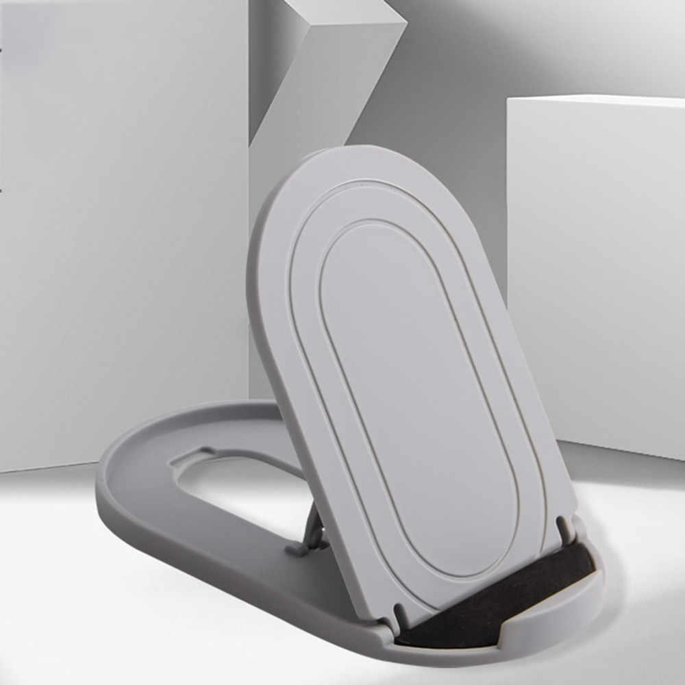 Soporte de escritorio portátil plegable Universal soporte de soporte para Smartphone móvil para tableta de teléfono móvil Uchwyt Do Telefonu