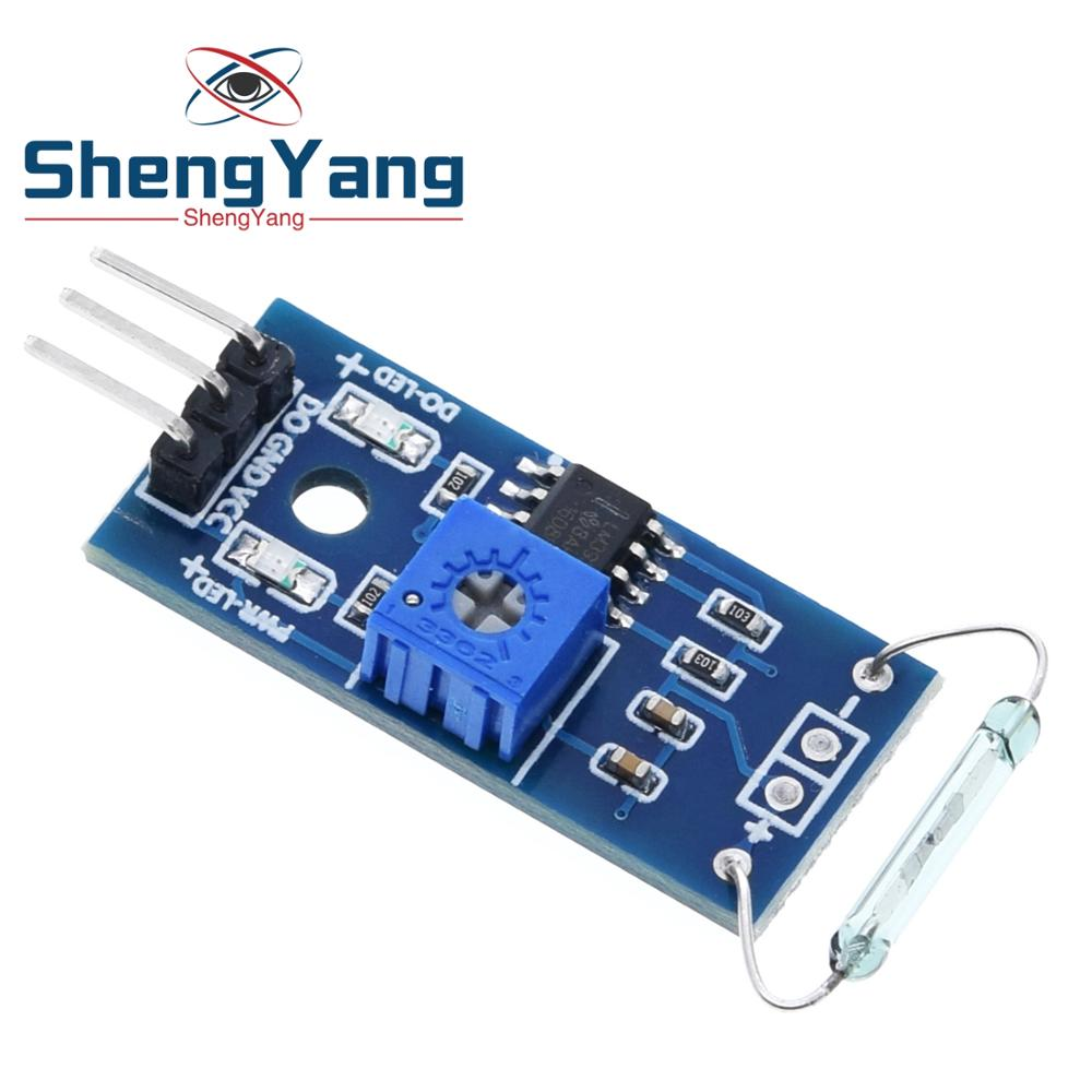 2PCS Reed sensor module magnetron module reed switch MagSwitch For Arduino