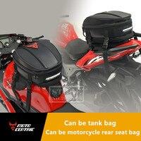 MOTOCENTRIC Motorcycle Saddlebags Tank Bag Motorbike Racing Bag Motorcycle Tank Oil High Quality Motorcycle Rear Seat Tail Bags