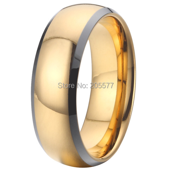 unique wedding band tungsten ring for couples fashion cool mens jewellery high polishing comfort fit - Mens Unique Wedding Ring