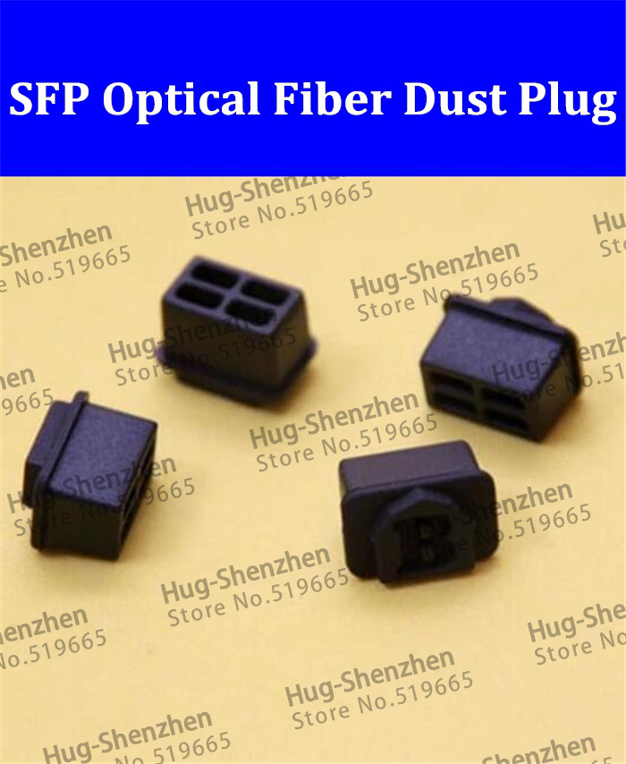 China wholesale !SFP optical fiber black silicon dust plug /dust cover for SFP optical transceiver with free shipping 200pcs/lot