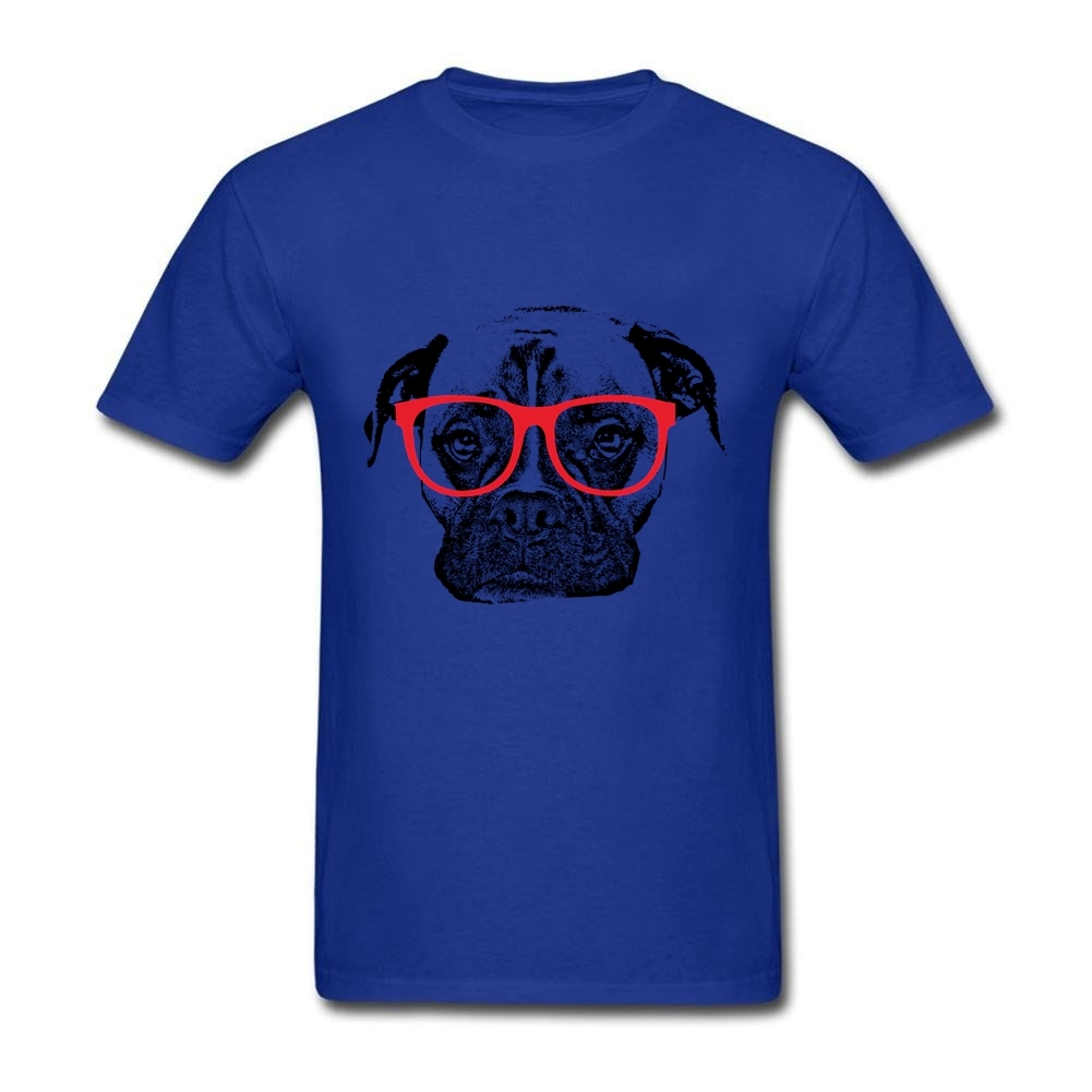 Design your own t-shirt for dogs - Aliexpress Com Buy Short Sleeve Cotton Custom Boxer Dog With Glasses T Shirt Order Couple Xxxl Design Your Own T Shirt From Reliable Custom Design