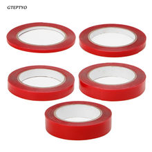 GTEPTYO 5M Clear Double Sided Adhesive Tape PET Red Film Servo Tape for Phone LCD Screen(China)