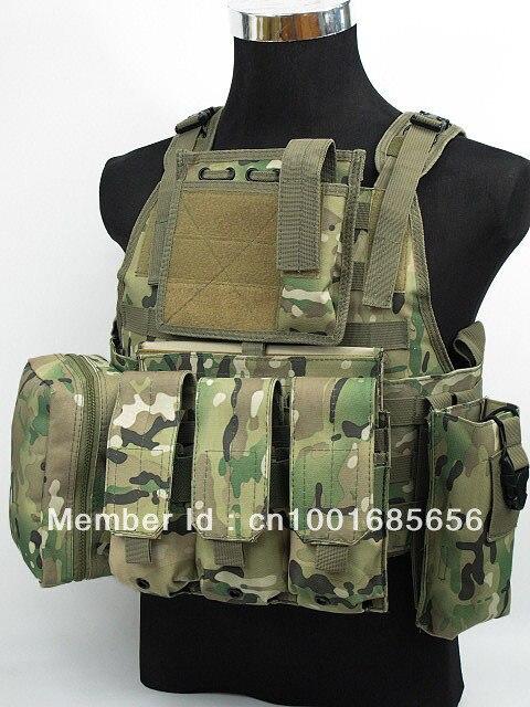 ФОТО USMC MOD Molle Assault Plate Carrier Vest Multi Camo