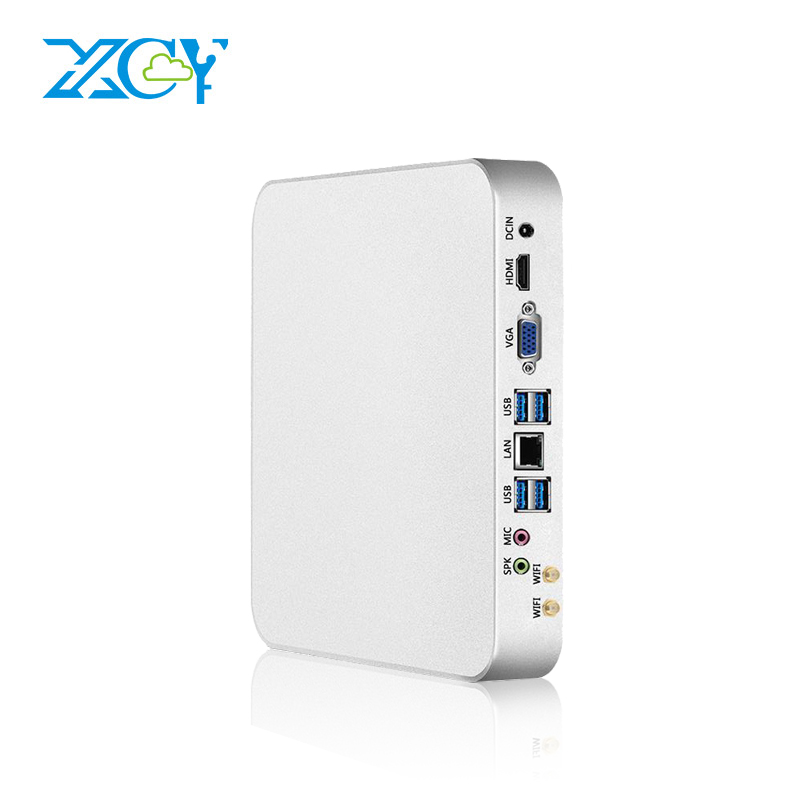 XCY X26 Mini PC i7 7500U i5 7200U i3 7100U 7th Gen Intel Core Processor DDR4 RAM Windows 10 Gaming PC 4K UHD HTPC HDMI VGA WiFi