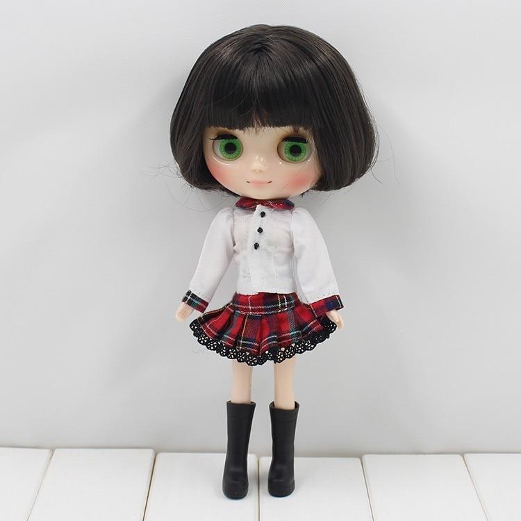 Middie Blythe Doll Grey Hair 20cm 8