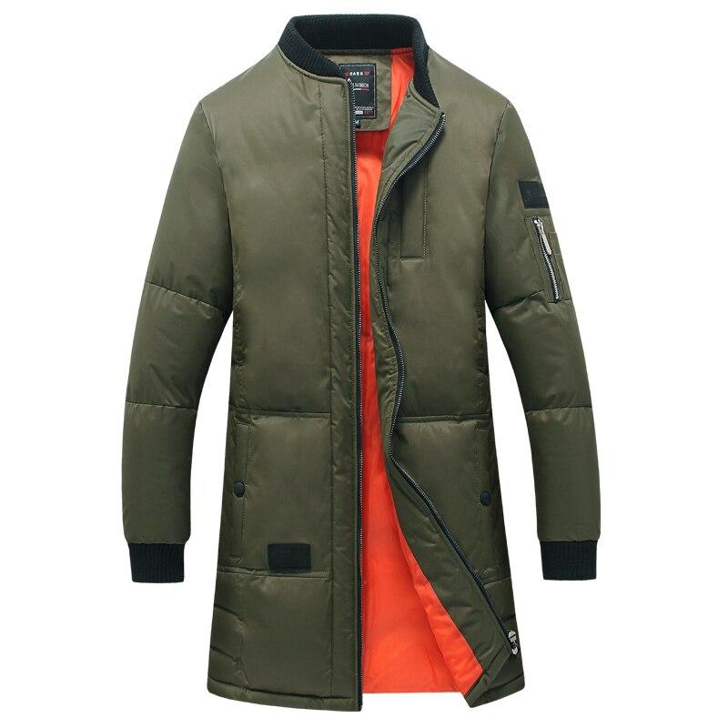 2016 Jaqueta Masculina Men Winter Jackets Veste Homme Parkas Padded Coats Men's Casual Fashion Slim Fit Wadded Men Hooded Coats